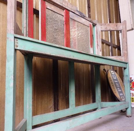 Ancien meuble de métier en bois, présentoir vitrine, Meubles de métier, Mobilier | Puces Privées