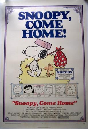 affiche cinéma Snoopy, Affiches anciennes (cinéma, theâtre, publicitaire), Image | Puces Privées