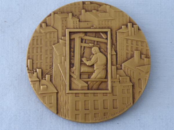No - 31 -  Médaille par RENARD  MARCEL sculpteur médailleur 1893 -1974 ., Numismatique, Collections | Puces Privées