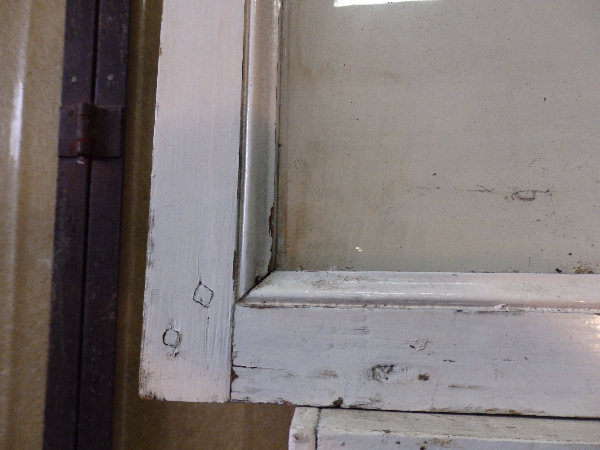 Grande vitrine ancienne en bois, Vitrines, Mobilier   Puces Privées