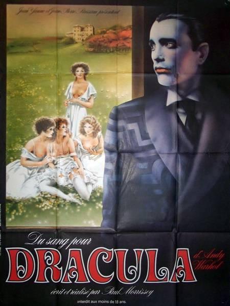 affiche cinéma Du sang pour Dracula, Affiches anciennes (cinéma, theâtre, publicitaire), Image | Puces Privées