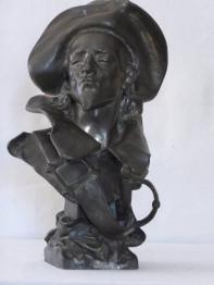 Plâtre art déco Diane Chasseresse aux Lévriers, Sculptures autres matériaux, Sculptures | Puces Privées