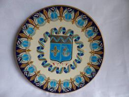 No - 307 - Poule en porcelaine polychrome sur son nid | Puces Privées