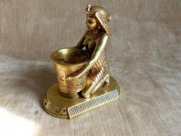 No - 52 -  Bronze ancien  Staeten Georges van der 1856 , buste féminin . | Puces Privées