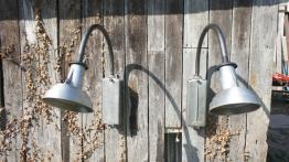 Paire d'appliques  Genet Michon 1950, Appliques, Luminaires | Puces Privées