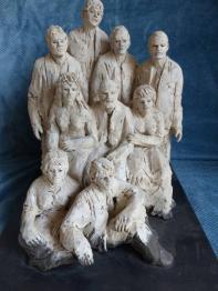 Sculpture terre cuite et sculpture biscuit