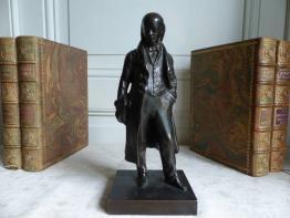 Buste de jeune femme en bronze | Puces Privées