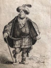 Gravure ancienne et dessin