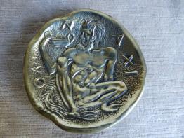 No - 274 - Moigniez Jules 1835-1894 bronze - lion en marche | Puces Privées