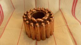 No - 376 - Moule à gâteau en cuivre  TROTTIER  PARIS XIXème siècle | Puces Privées
