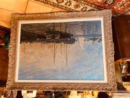 Brocante 77, vitrine ANTIQUITES DECORATION Yvonne Pasquier, brocante Seine-et-Marne | Puces Privées