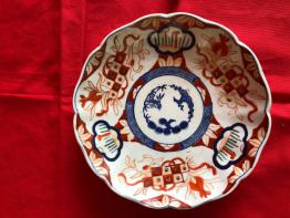 No - 276 - Belle et grande soupière en porcelaine de Limoges Bernardaud   Puces Privées