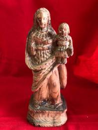 No - 136 -  Sculpture en bois représentant un moine ., Sculptures bois, Sculptures | Puces Privées