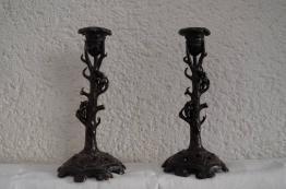 No - 46 - Bel encrier en bronze 19 ème siècle | Puces Privées