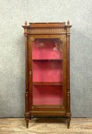 D'après Albert Guenot  Magnifique bibliothéque vitrine époque Art Déco en noyer blond | Puces Privées