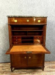Magnifique secrétaire époque Restauration en acajou vers 1800-1820 | Puces Privées