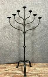 Bougeoir et chandelier