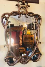 Miroir ancien or