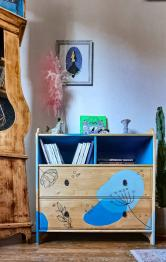 Brocante 75, vitrine Les meubles d'Anya, brocante Paris | Puces Privées