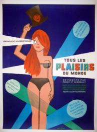 affiche cinéma Jamais le dimanche, Affiches anciennes (cinéma, theâtre, publicitaire), Image | Puces Privées