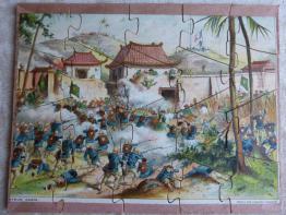 No - 103 -  Puzzle - La cuisinière et le cuisinier  ., Puzzle, Jeux anciens | Puces Privées