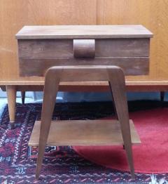 Chevet et table de chevet anciens
