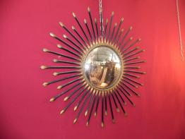 Miroir ancien métal