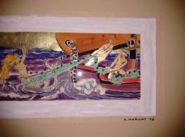 Brocante 75, vitrine Les trésors d'Isabelle, brocante Paris | Puces Privées