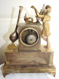 horloge régulateur de parquet époque Art Déco en ronce de noyer | Puces Privées