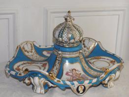 clochette de table en cristal de baccarat | Puces Privées