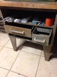 Table basse industrielle | Puces Privées