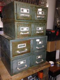 Ancien meuble de tri postal, Mobilier industriel, Mobilier | Puces Privées