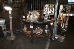 Brocante 44, vitrine Recyclage Design Réanimateur d'objets, brocante Loire-Atlantique   Puces Privées