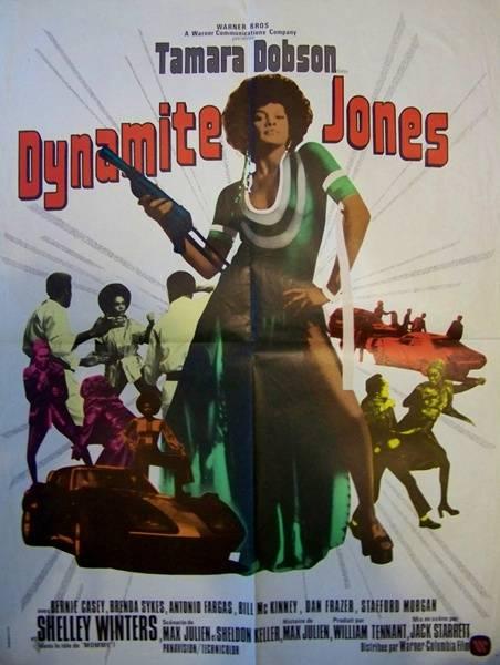 affiche cinéma Dynamite Jones, Affiches anciennes (cinéma, theâtre, publicitaire), Image | Puces Privées
