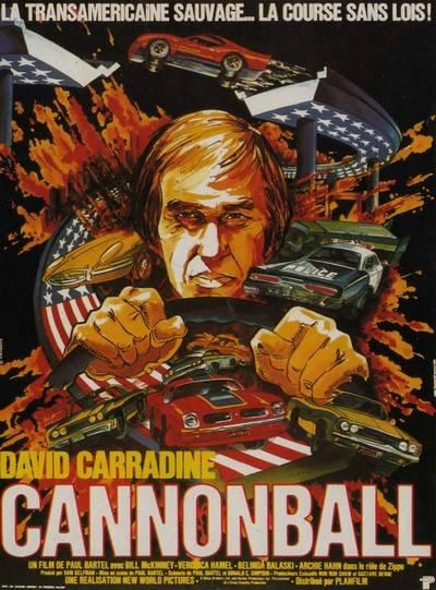 affiche cinéma Cannonball, Affiches anciennes (cinéma, theâtre, publicitaire), Image | Puces Privées