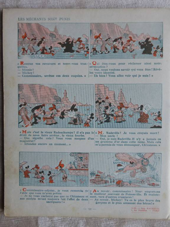 No - 97 -  Mickey chercheur d'or  année  1931 ., Jeunesse, Livres | Puces Privées