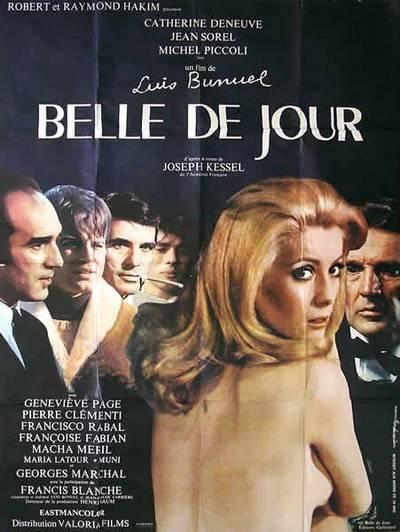 affiche cinéma Belle de jour, Affiches anciennes (cinéma, theâtre, publicitaire), Image   Puces Privées