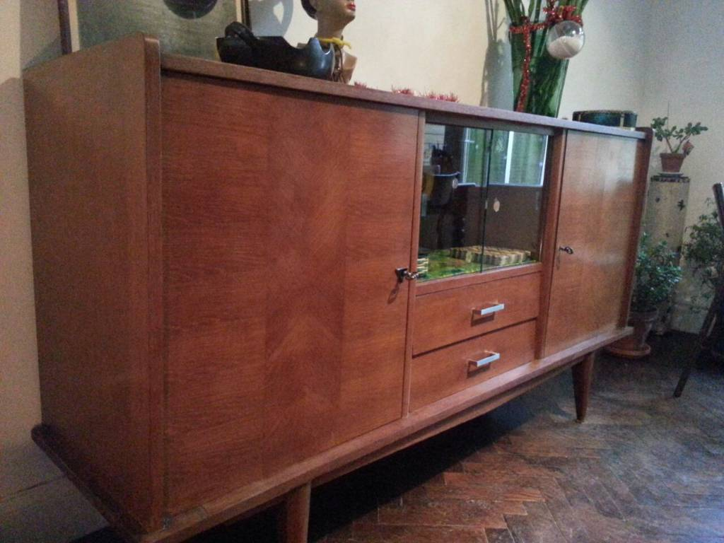 Enfilade vintage des années 50/60, Enfilades, Mobilier | Puces Privées