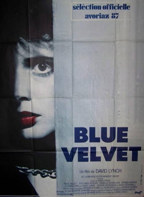 affiche cinéma Blue Velvet, Affiches anciennes (cinéma, theâtre, publicitaire), Image | Puces Privées