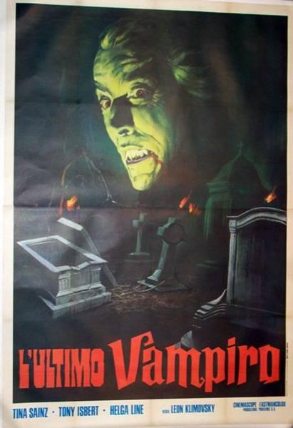 affiche cinéma L'ultimo vampiro, Affiches anciennes (cinéma, theâtre, publicitaire), Image | Puces Privées