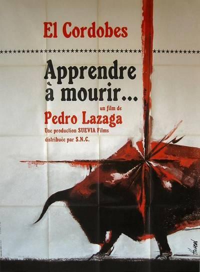 affiche cinéma Apprendre à mourir, Affiches anciennes (cinéma, theâtre, publicitaire), Image | Puces Privées