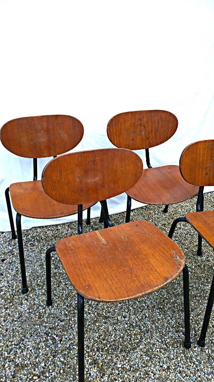 Chaises modèle 145 Kurt Nordström, Chaises - tabourets, Sièges   Puces Privées