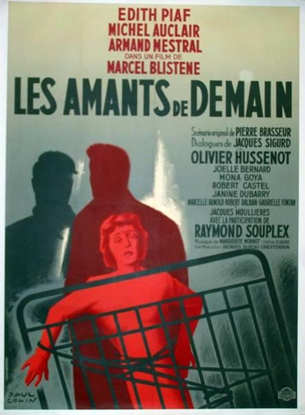 affiche cinéma Les amants de demain, Affiches anciennes (cinéma, theâtre, publicitaire), Image | Puces Privées