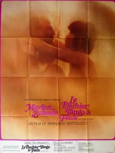 affiche cinéma Dernier tango à Paris, Affiches anciennes (cinéma, theâtre, publicitaire), Image   Puces Privées