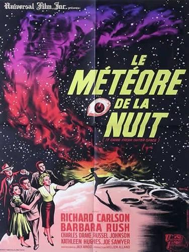 affiche cinéma Le météore de la nuit, Affiches anciennes (cinéma, theâtre, publicitaire), Image | Puces Privées