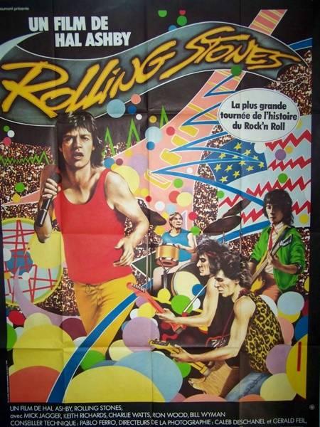 affiche cinéma Rolling Stones, Affiches anciennes (cinéma, theâtre, publicitaire), Image | Puces Privées