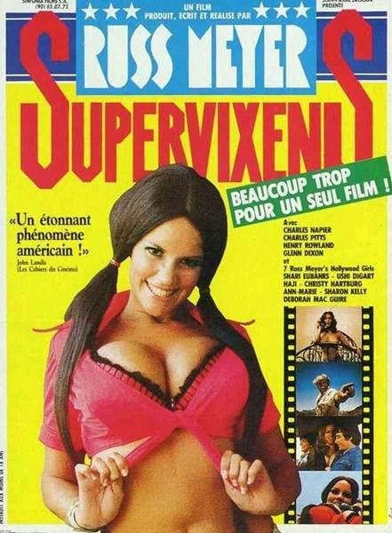 affiche cinéma Super vixens, Affiches anciennes (cinéma, theâtre, publicitaire), Image | Puces Privées