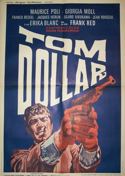 affiche cinéma Tom dollar, Appareils photo, Image | Puces Privées