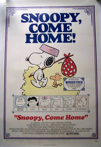 affiche cinéma Snoopy,come one, Affiches anciennes (cinéma, theâtre, publicitaire), Image | Puces Privées