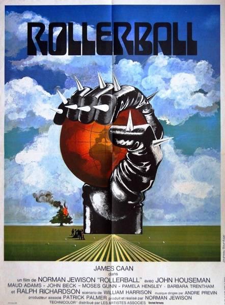 affiche cinéma Rollerball, Affiches anciennes (cinéma, theâtre, publicitaire), Image | Puces Privées